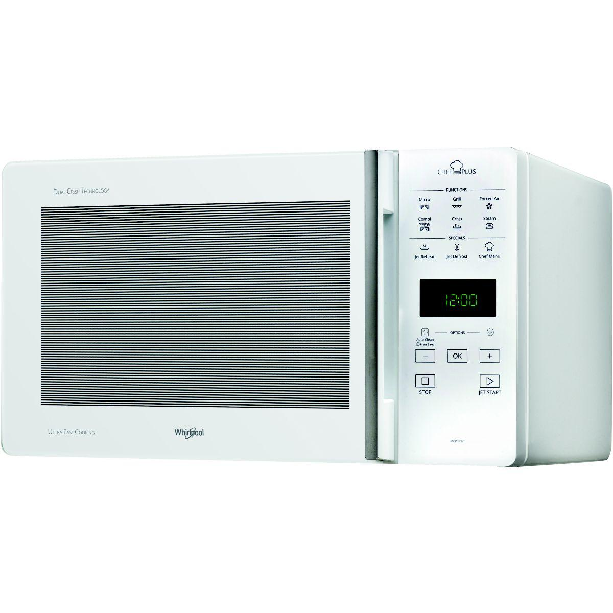 Micro ondes whirlpool mcp349wh - livraison offerte : code liv