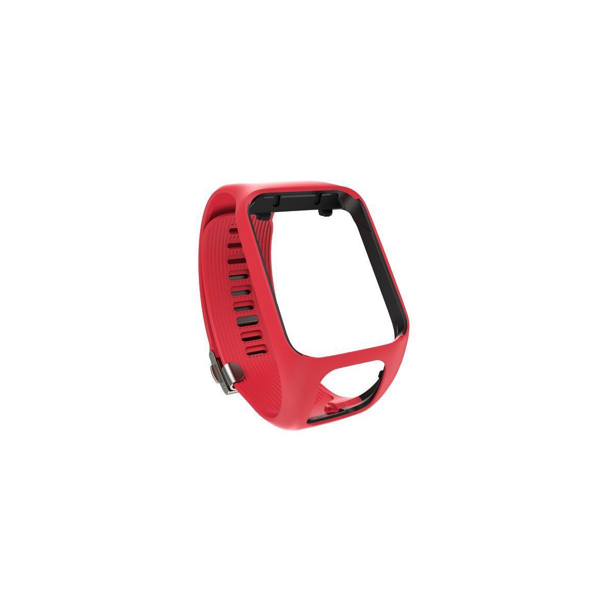Bracelet montre tomtom rouge large pour - produit coup de coeur webdistrib.com !