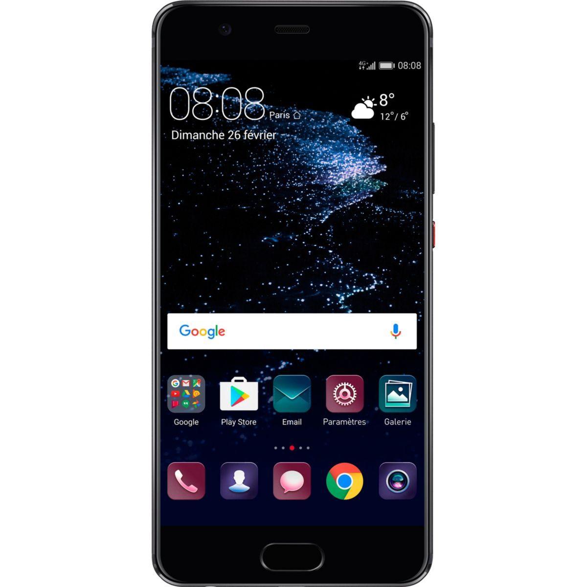 Smartphone huawei p10 plus noir - 10% de remise imm�diate avec le code : fete10