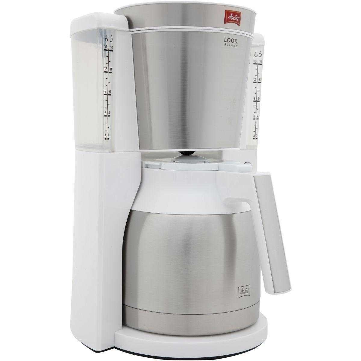 Cafeti�re isotherme melitta look iv therm deluxe blanc (photo)