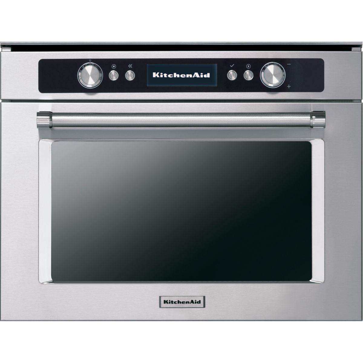 Micro ondes combin� kitchenaid kmqcx38600 - livraison offerte : code livprem (photo)