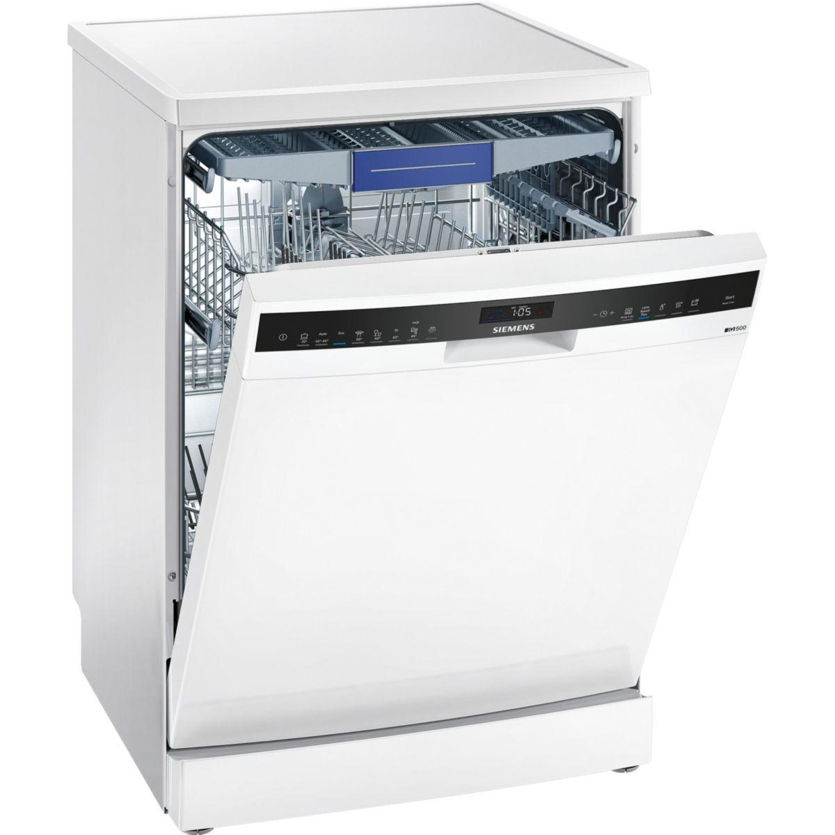 Lave vaisselle 60 cm siemens sn258w02me - livraison offerte : code liv