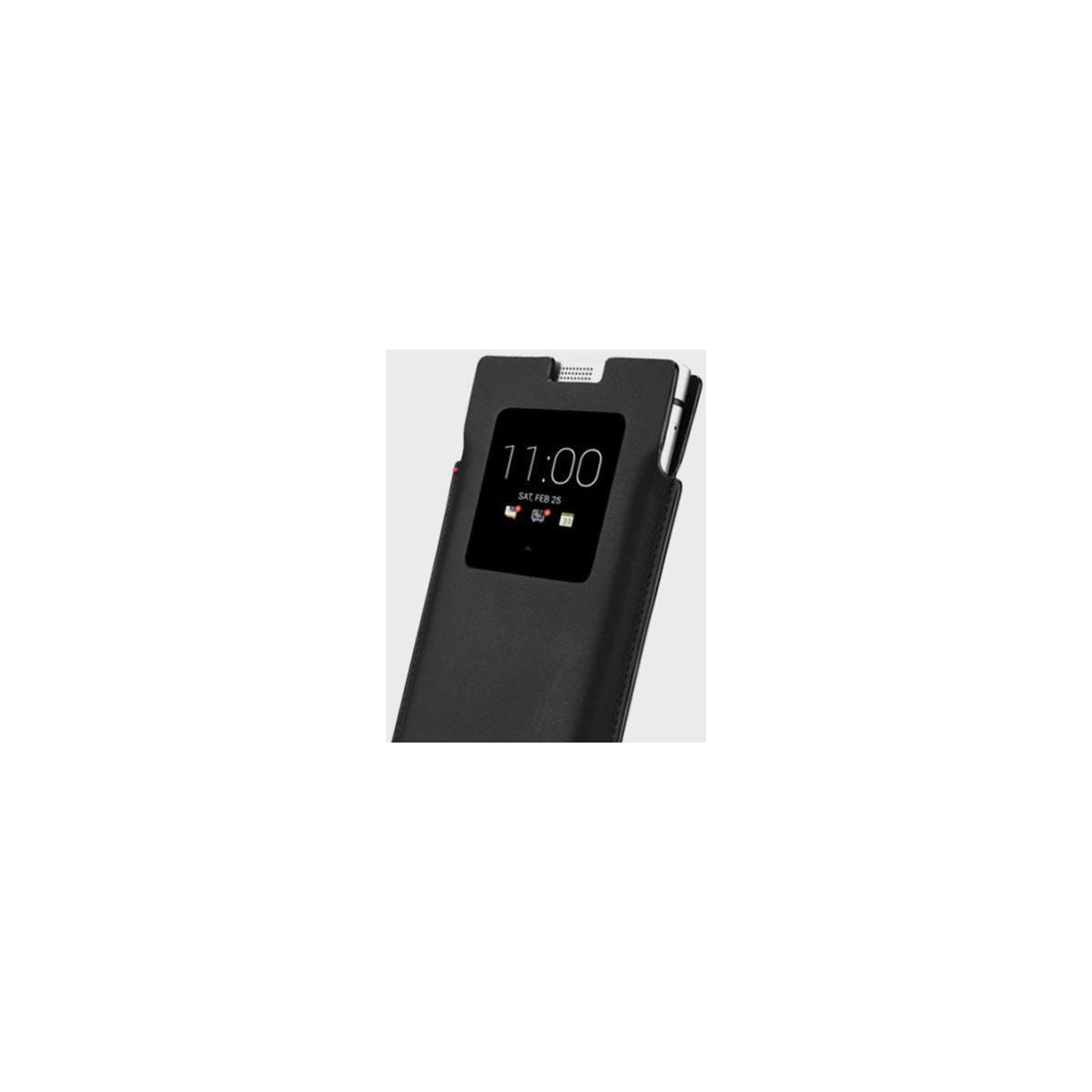 Etui blackberry smart pocket cuir noir - 10% de remise immédiate avec le code : cool10