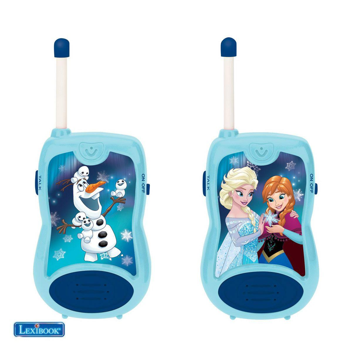 Talkie walkie lexibook tw12 la reine des neiges - 2% de remise imm�diate avec le code : cadeau2 (photo)