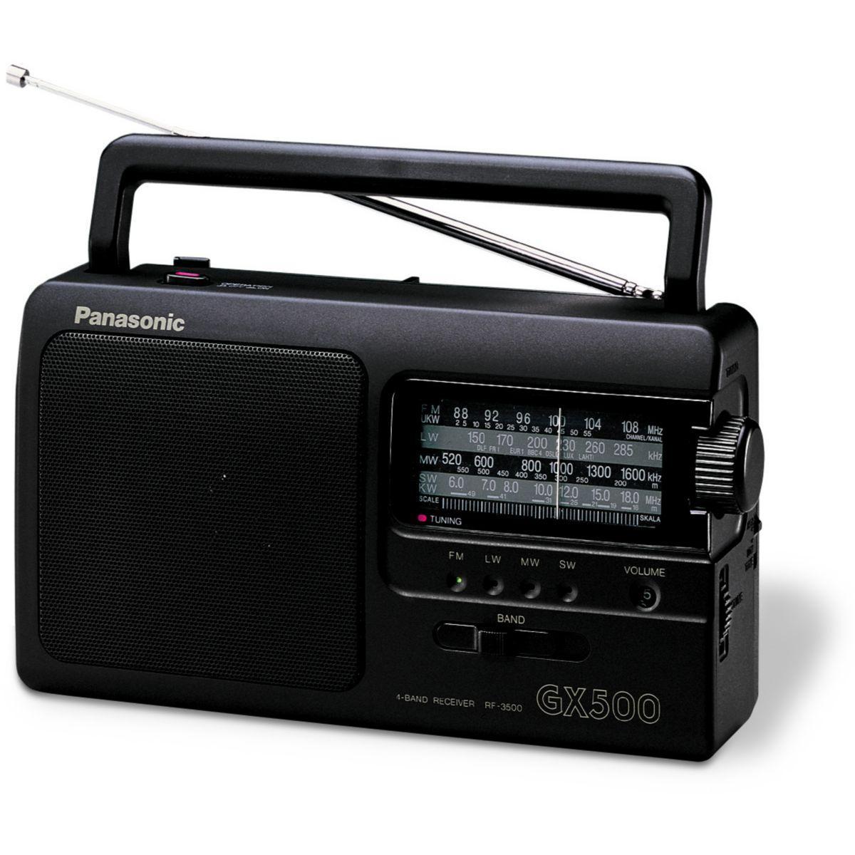 Radio analogique panasonic rf-3500 - livraison offerte : code premium