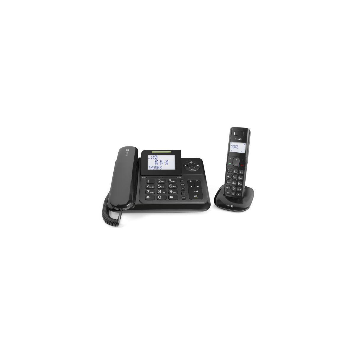 Tél. doro comfort 4005 noir - livraison offerte avec le code nouveaute (photo)