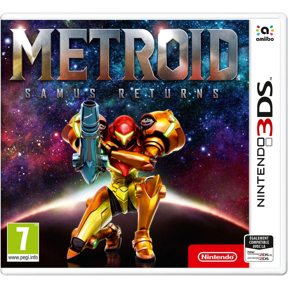 Jeu 3ds nintendo metroid samus returns (photo)