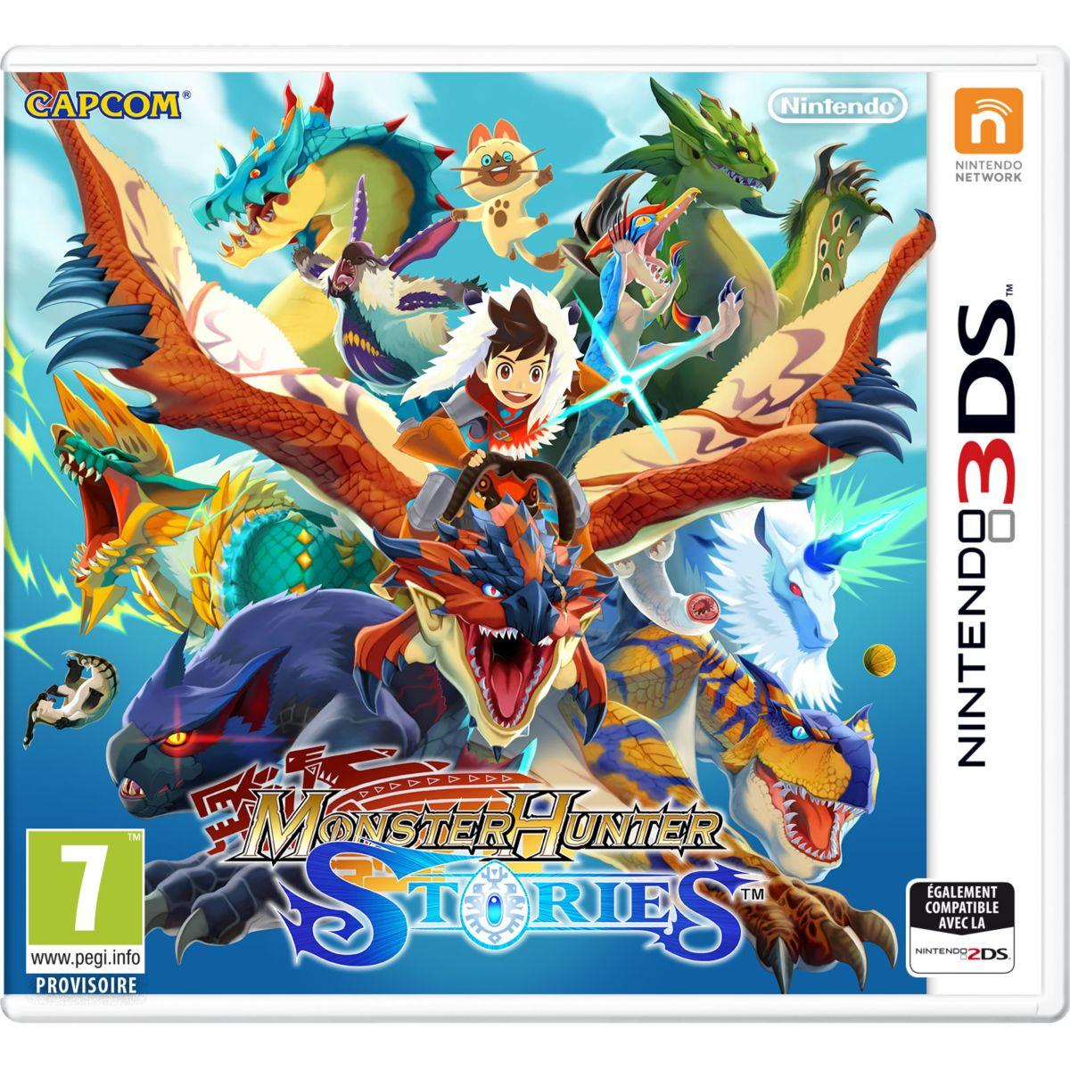 Jeu 3ds nintendo monster hunter stories - 2% de remise immédiate avec le code : cool2 (photo)
