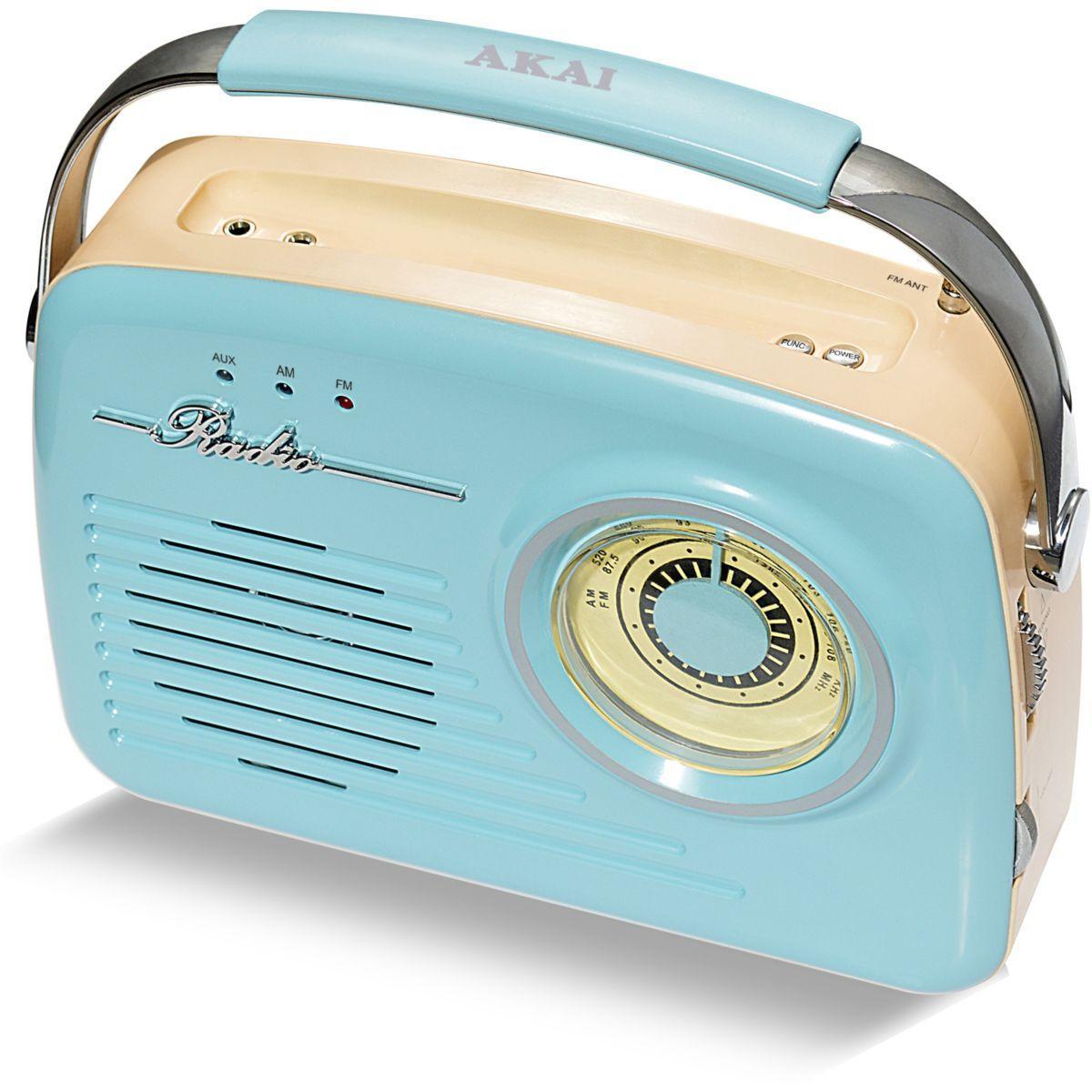 Radio akai ar-78 bleu - 20% de remise imm�diate avec le code : fete20 (photo)