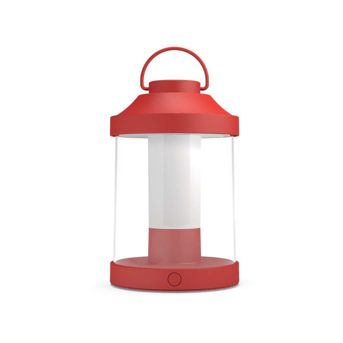Lanterne philips portable abelia - rouge - 7% de remise imm�diate avec le code : school7 (photo)