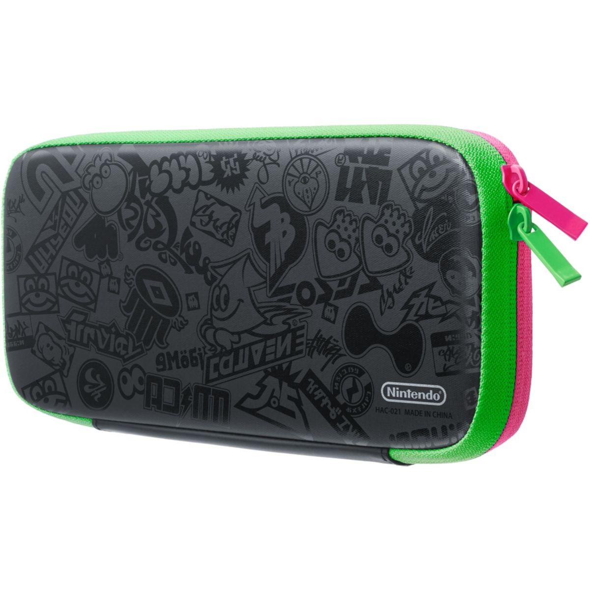 Kit de protection nintendo set transport et protection splatoon 2