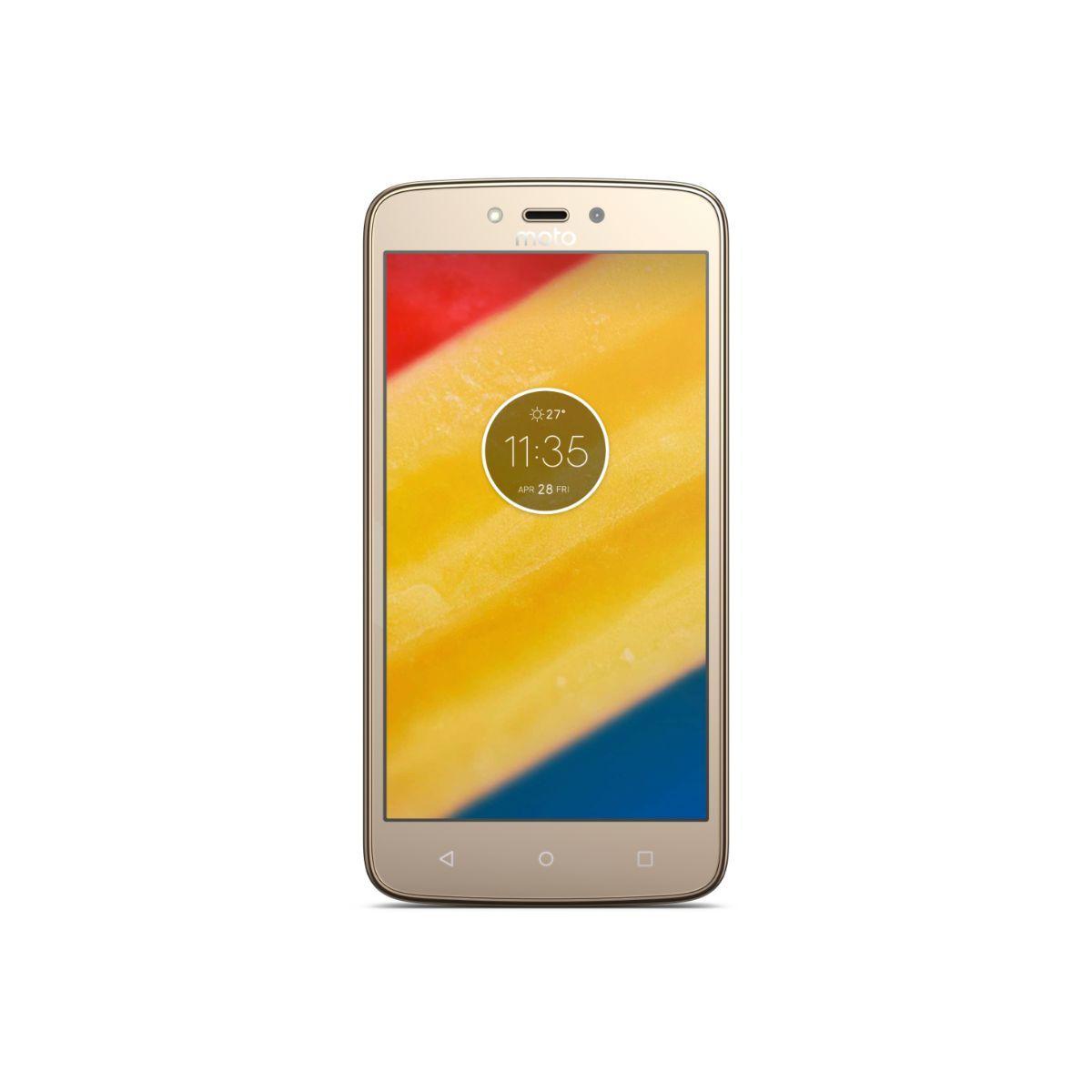 Smartphone motorola c plus gold