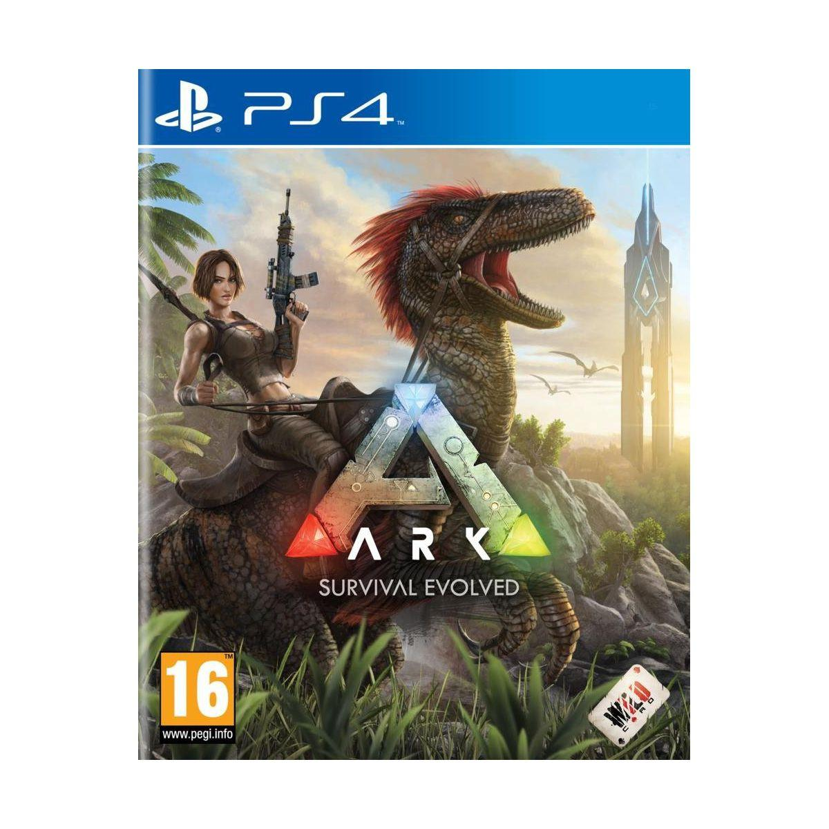 Jeu ps4 koch media ark survivol evolved - 2% de remise immédiate avec le code : cool2 (photo)