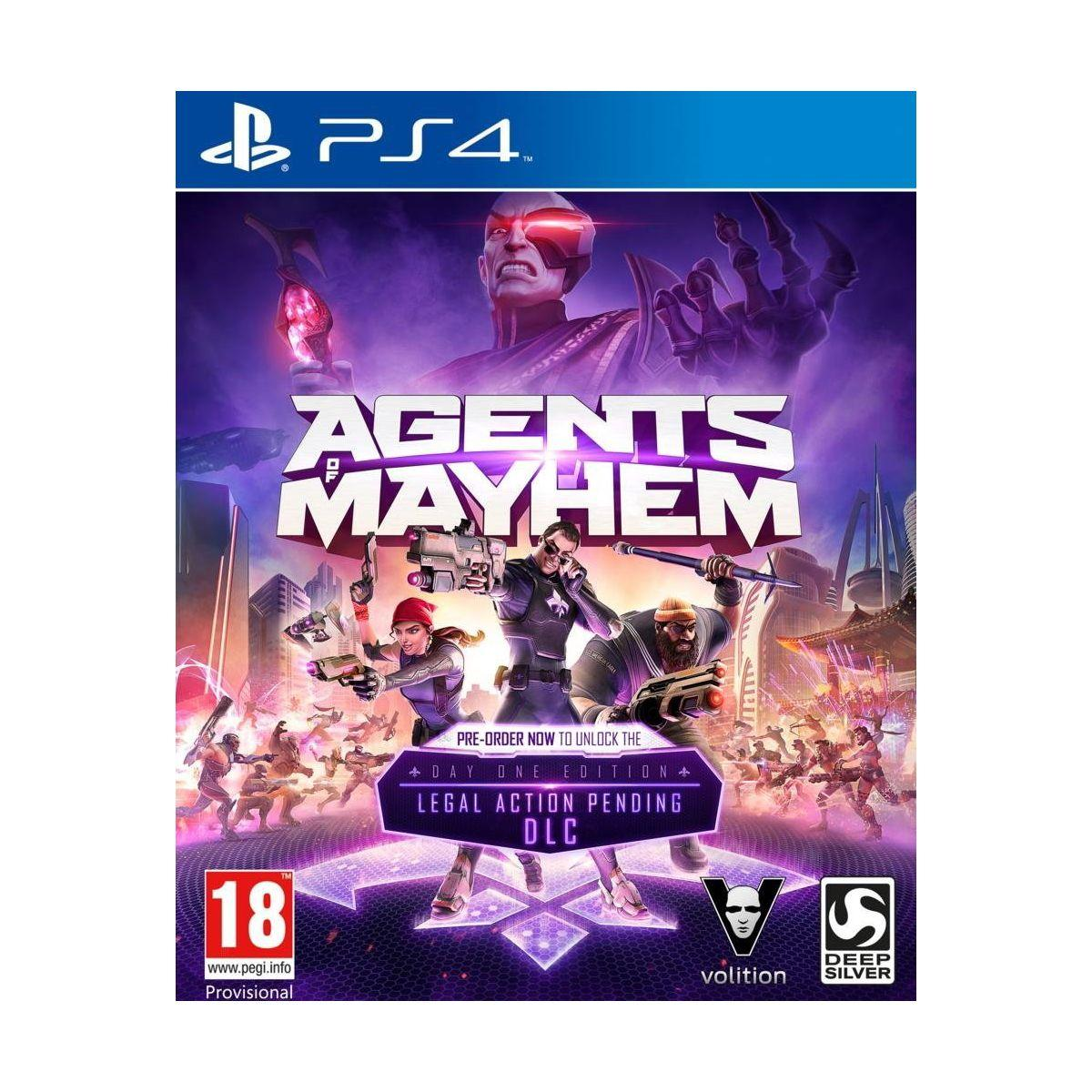 Jeu ps4 koch media agent of mayhem - 2% de remise immédiate avec le code : cool2 (photo)