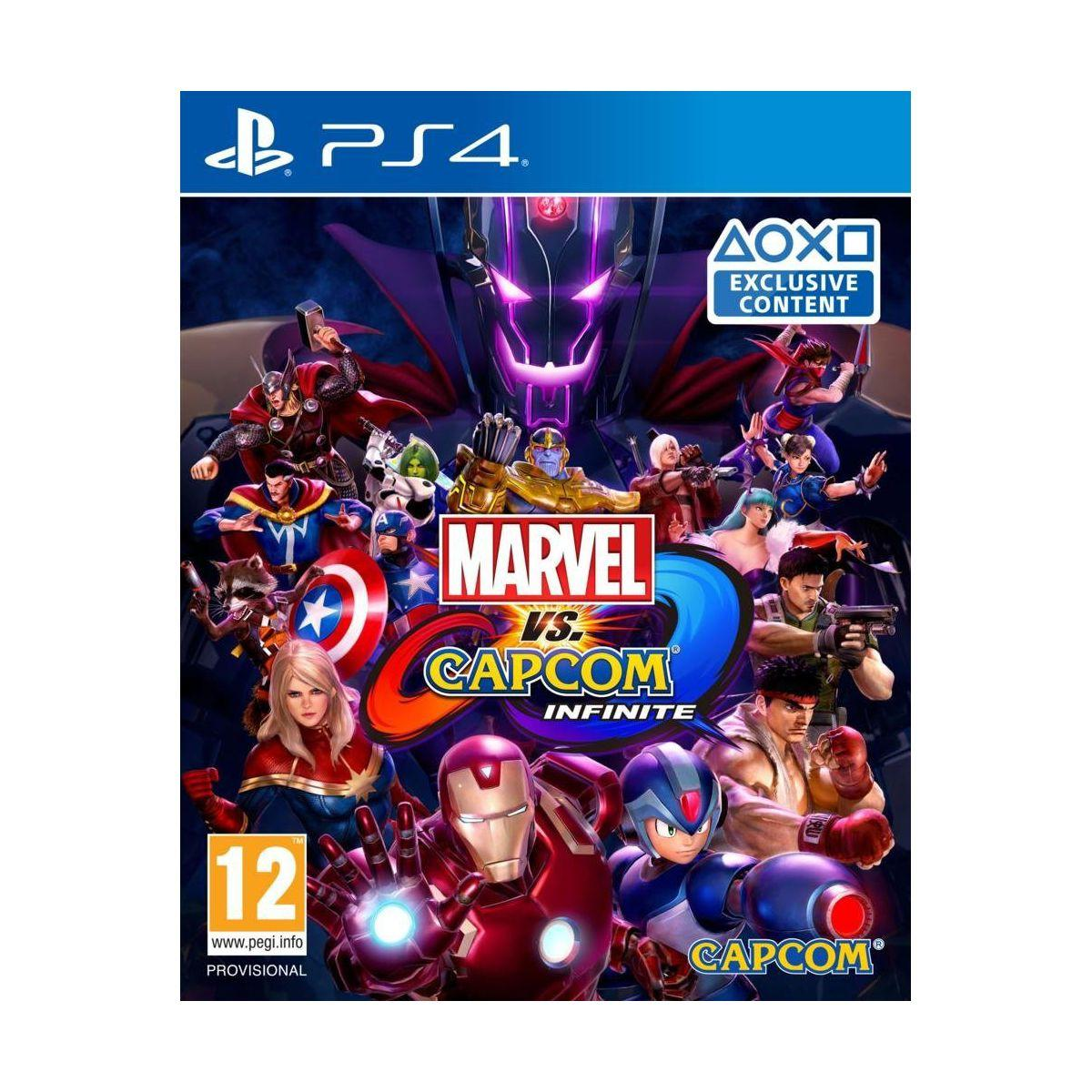 Jeu ps4 capcom marvel vs capcom infinite (photo)