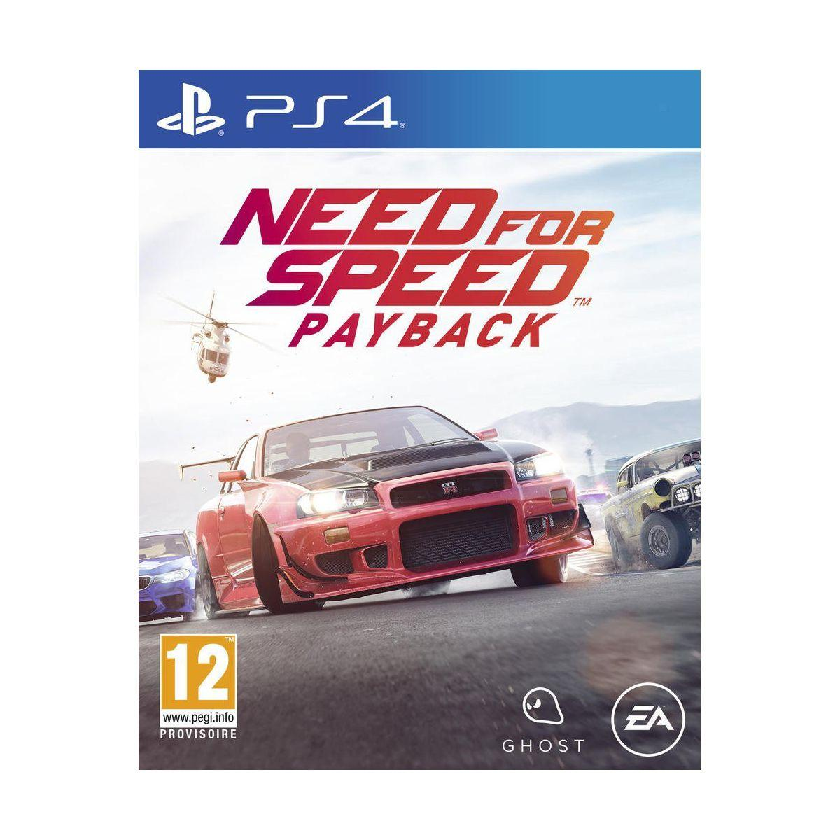 Jeu ps4 electronic arts need for speed payback (photo)