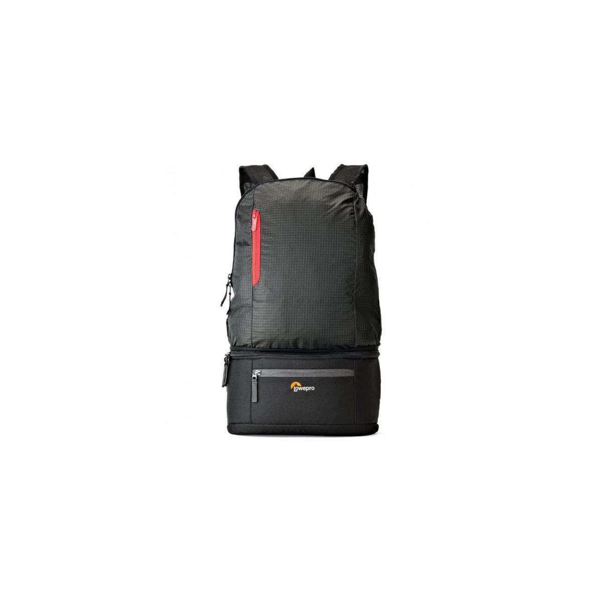 Sac à dos lowepro passeport duo noir - livraison offerte avec le code nouveaute