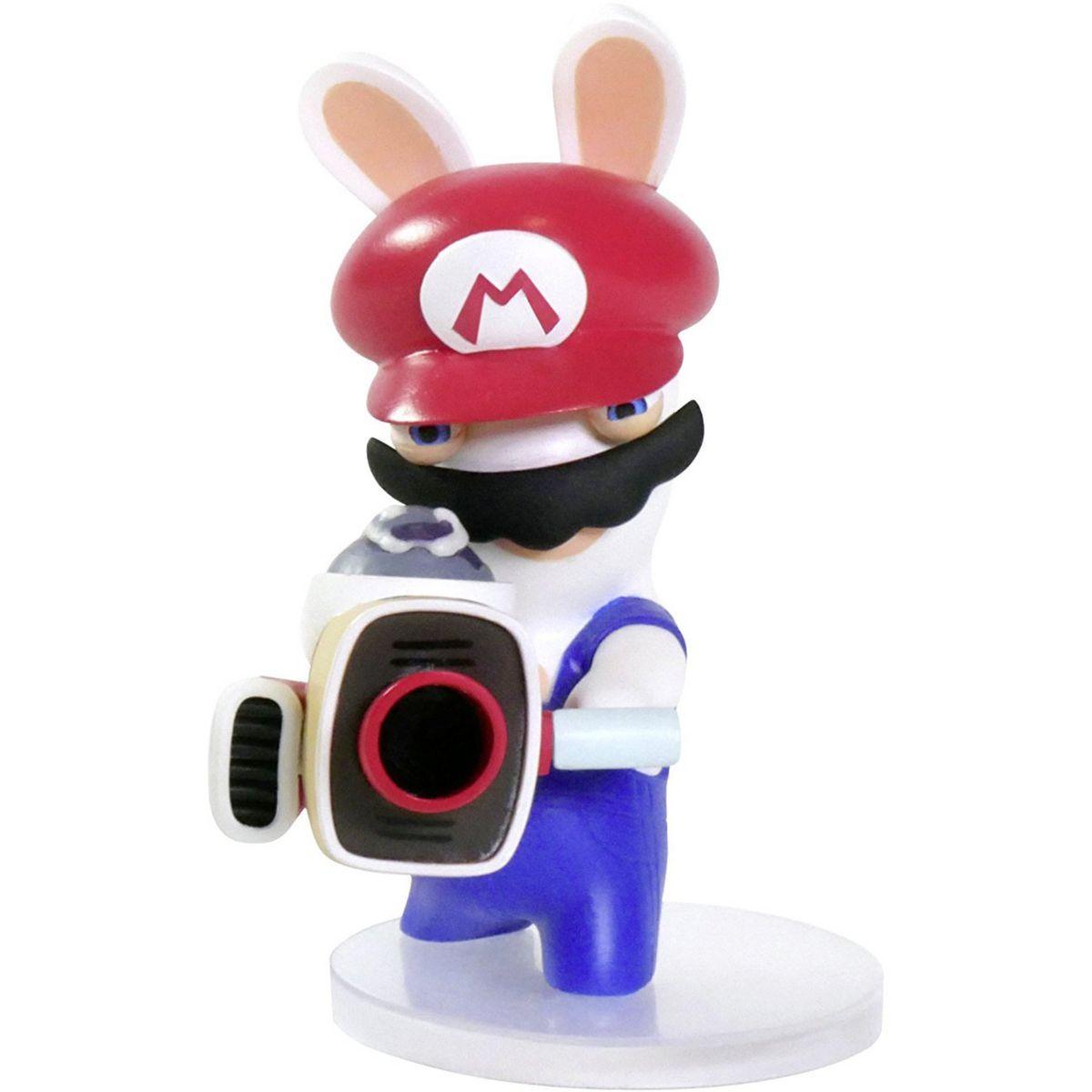 Figurine ubisoft mario + lapins cr�tins - mario 8cm (photo)