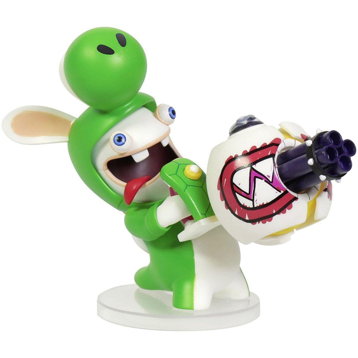Figurine ubisoft mario + lapins cr?tins - yoshi 8cm - 7% de re...