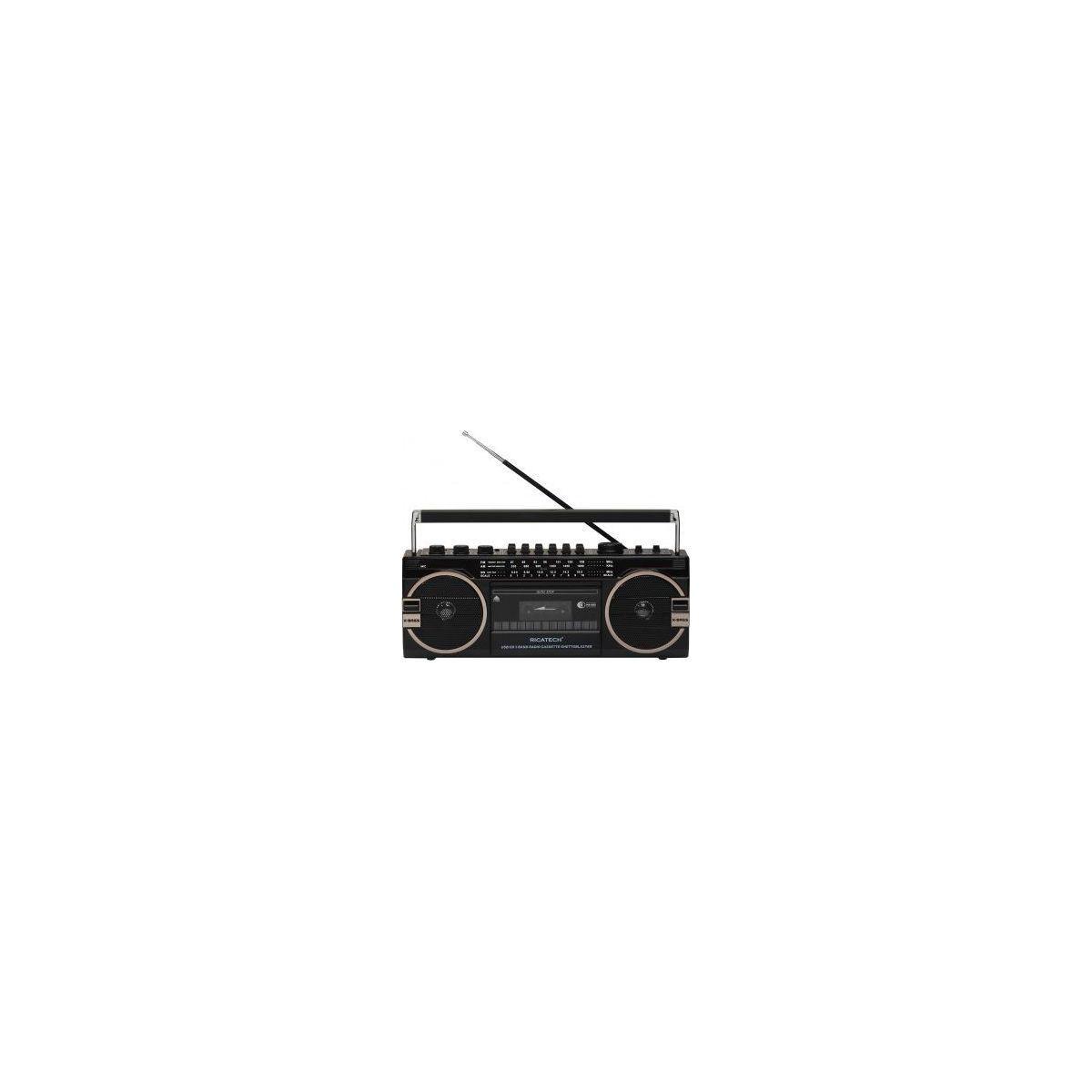 Radio analogique ricatech pr1980 ghettoblaster - livraison offerte : code liv (photo)