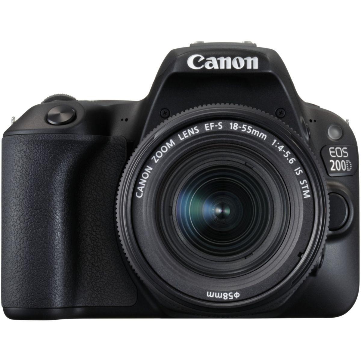 Appareil photo reflex canon eos 200d + 18-55mm + 50mm f/1.8 - ...