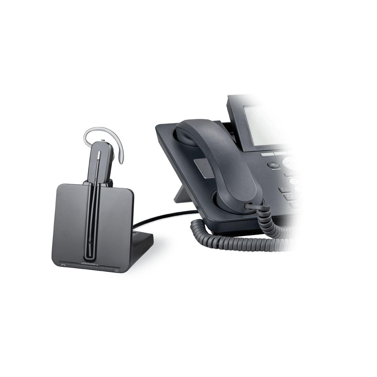 Casque micro t�l�phone fixe plantronics cs540a apa-23 conv emea - 2% de remise imm�diate avec le code : school2 (photo)