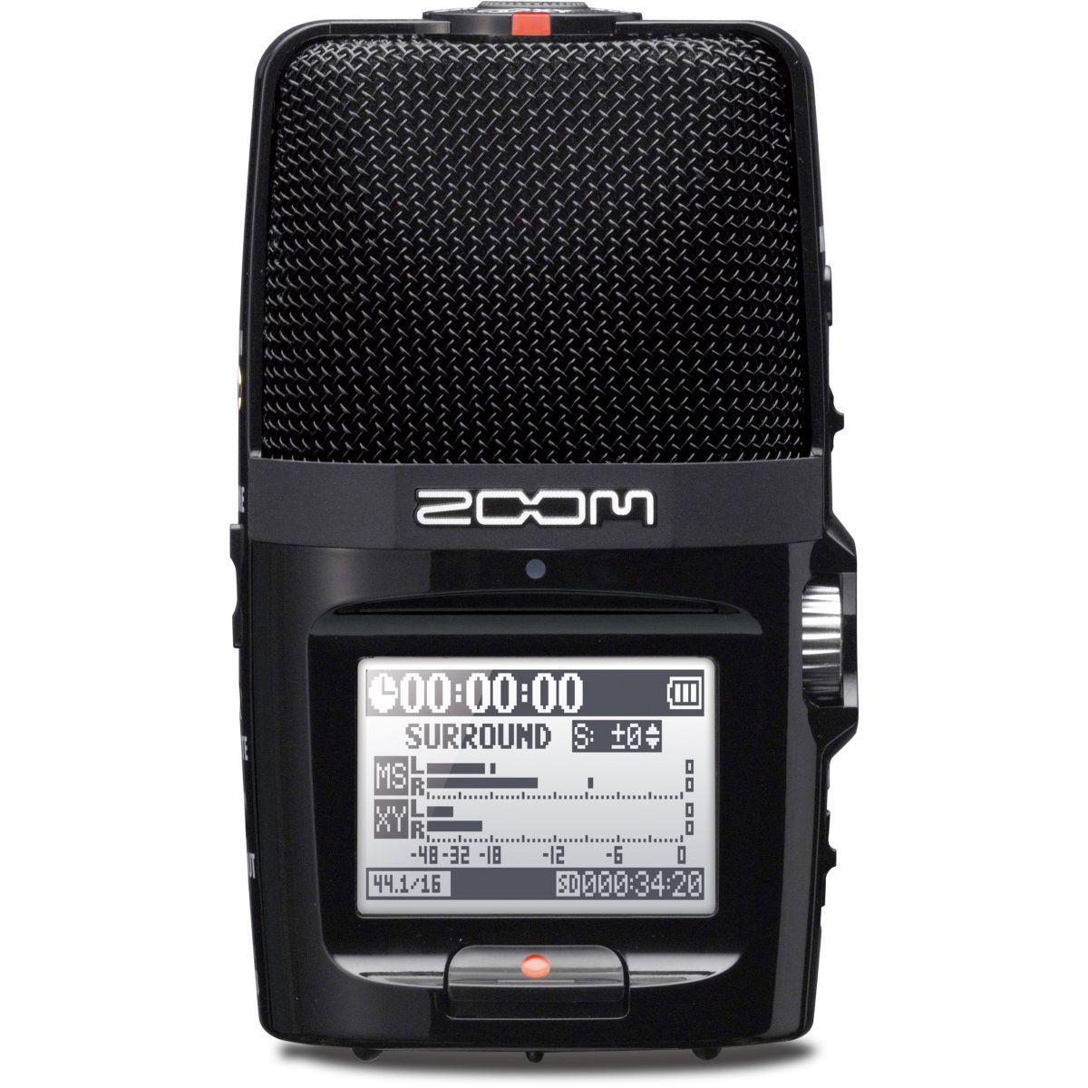 Dictaphone zoom h2n 4 pistes portable - 20% de remise imm�diate avec le code : school20 (photo)