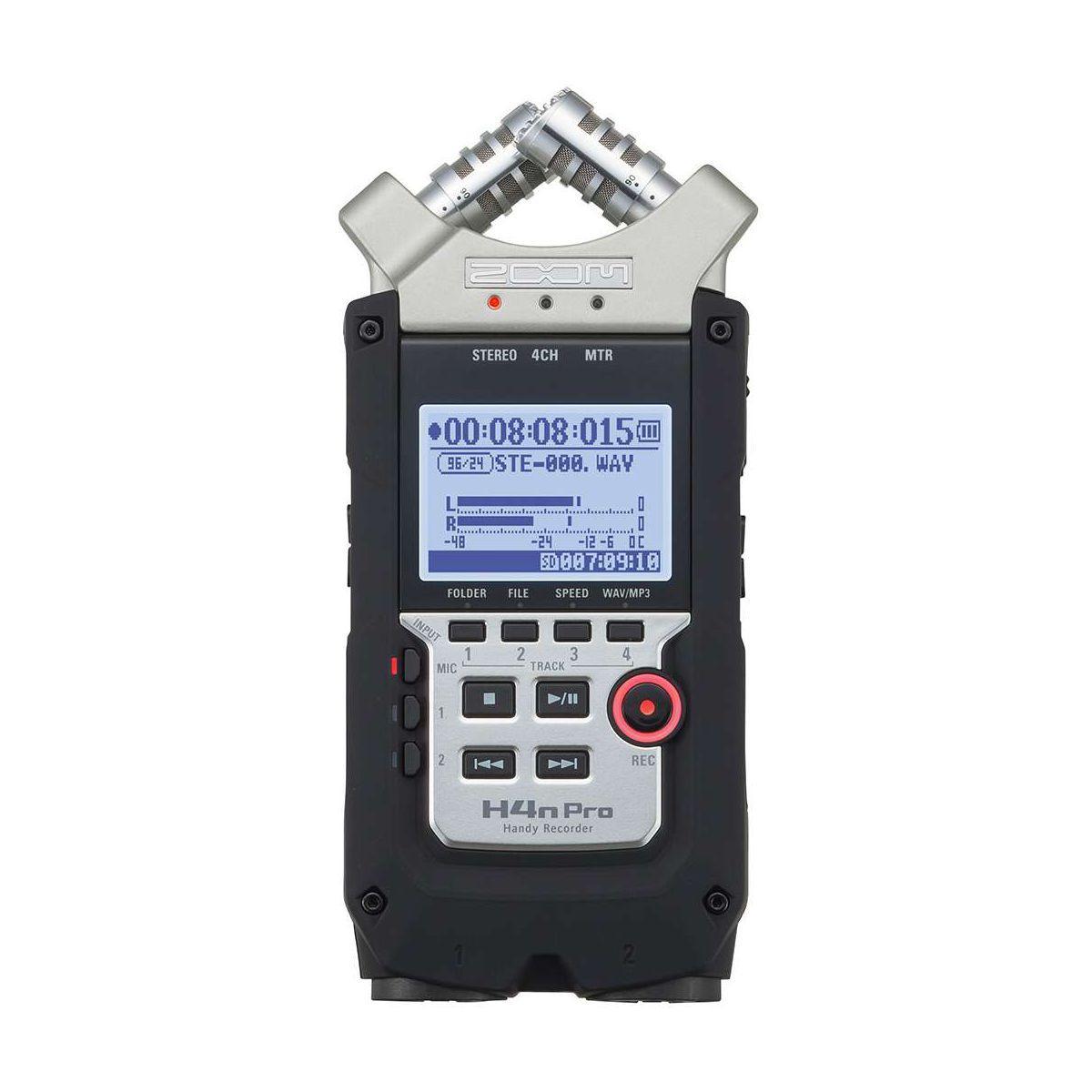 Dictaphone zoom h4npro 4 pistes portable - 15% de remise imm�diate avec le code : school15 (photo)