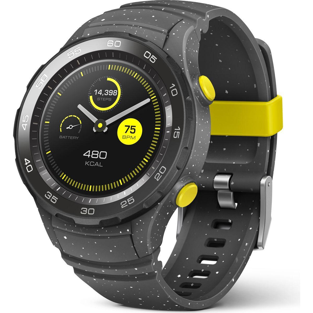 Montre connect�e huawei watch 2 sport gris - livraison offerte : code relay