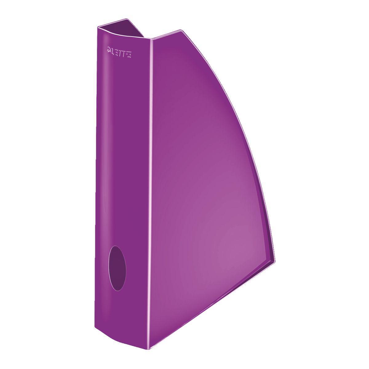 Corbeille leitz porte revue wow violet - 2% de remise imm�diate avec le code : automne2 (photo)