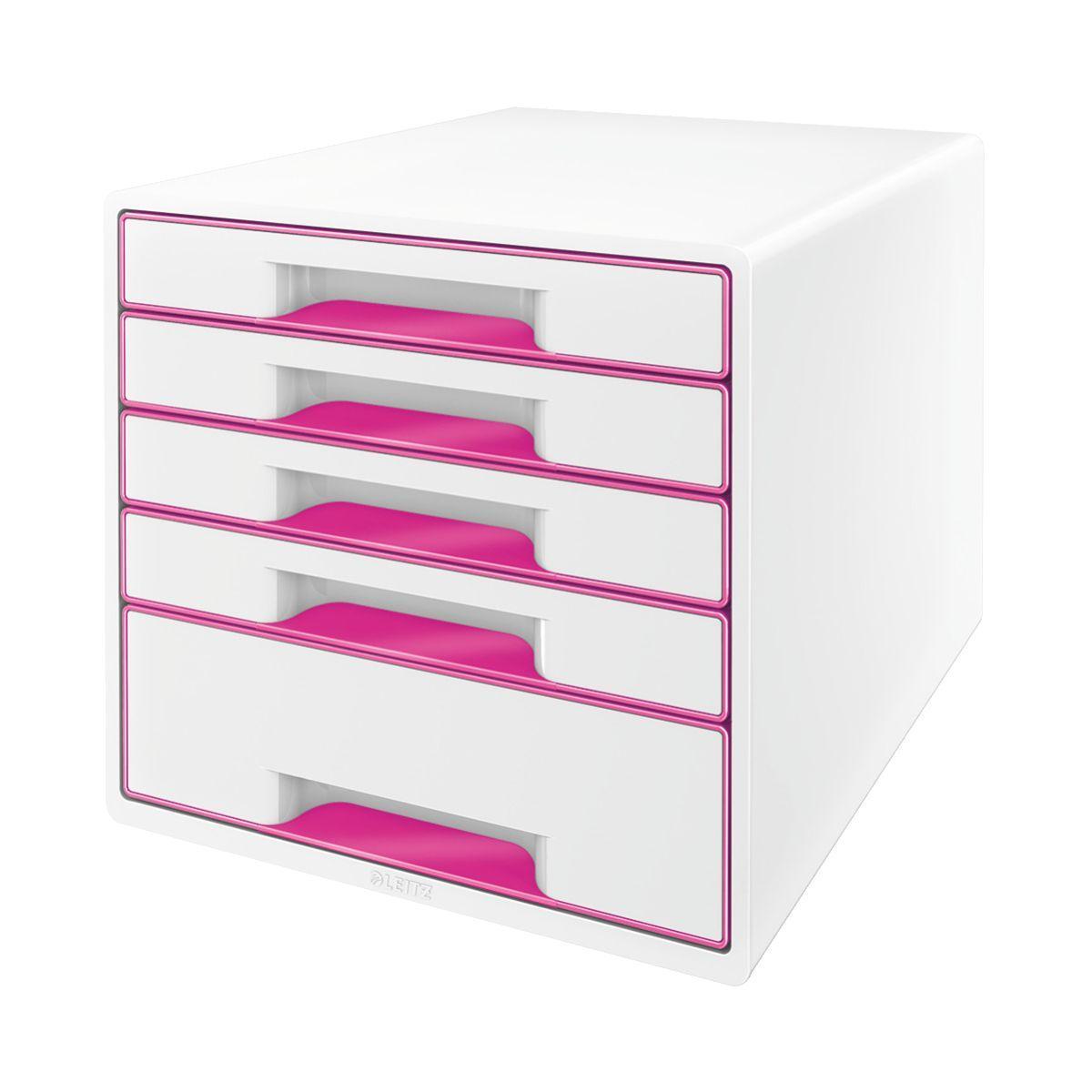 Bloc tiroir leitz bloc de classement tiroirs wow rose - 5% de remise imm�diate avec le code : automne5 (photo)