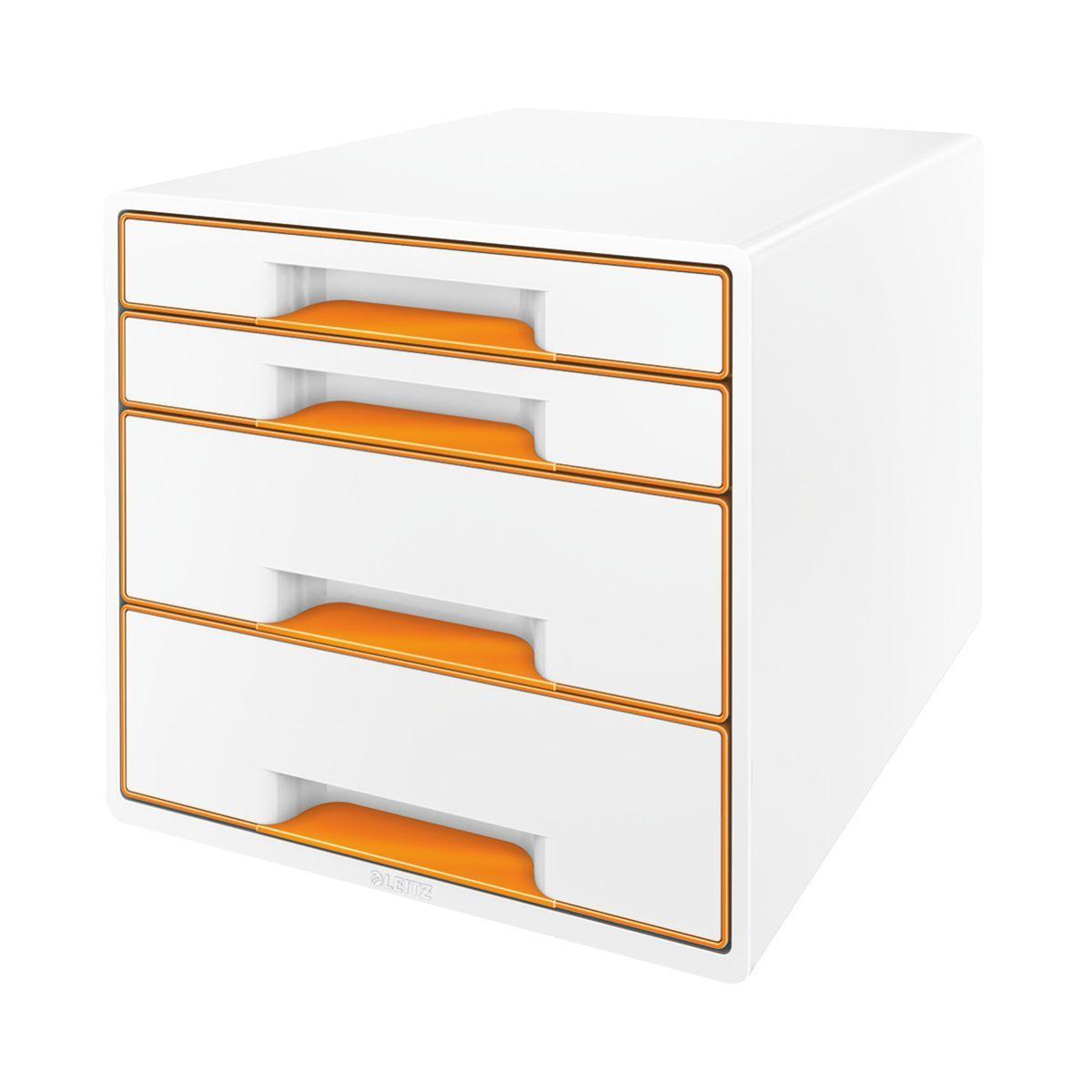 Bloc tiroir leitz bloc de classement tiroirs wow orange - 5% de remise imm�diate avec le code : automne5 (photo)