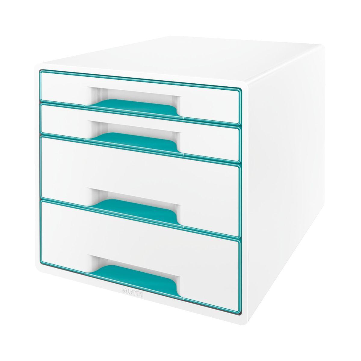 Bloc tiroir leitz bloc de classement tiroirs wow menthe - 5% de remise imm�diate avec le code : automne5 (photo)