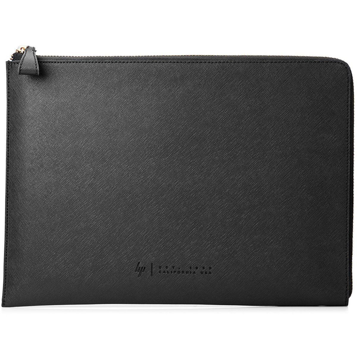 Etui hp leather sleeve 13.3' noir - livraison offerte : code premium