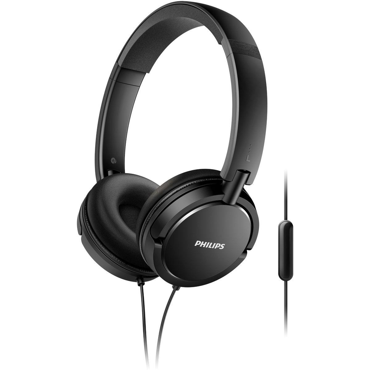 Casque philips shl5005 noir (photo)