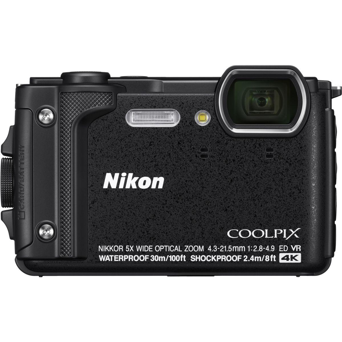Appareil photo compact nikon coolpix w300 noir (photo)
