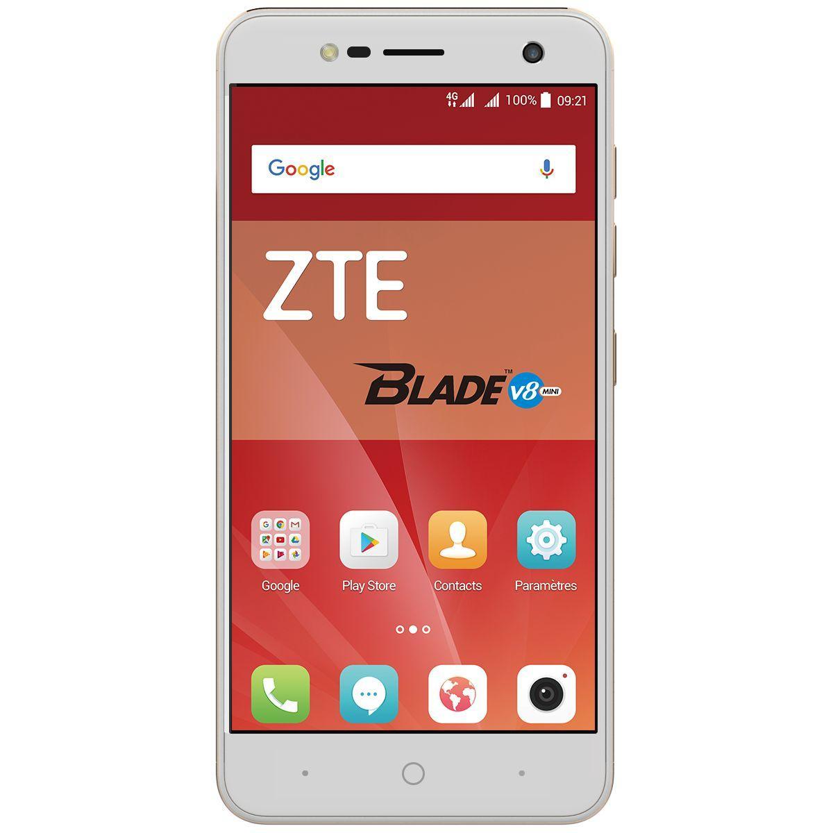 Smartphone zte blade v8 gold for Coque zte blade a610 plus
