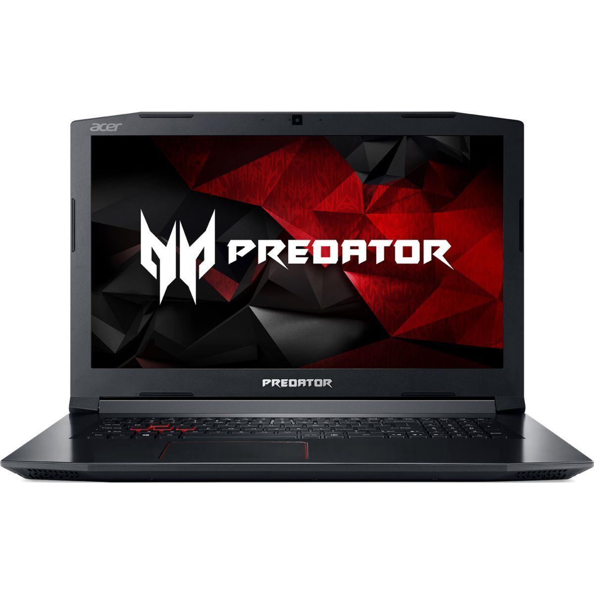 Portable acer predator ph317-51-72vu - livraison offerte : code liv (photo)