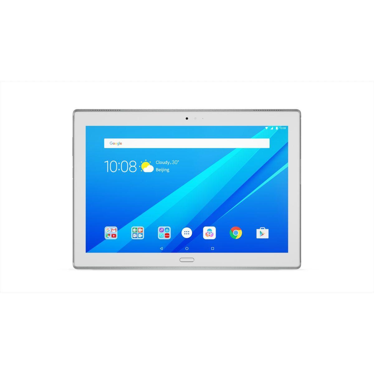 Tablette lenovo tab4+ 10 - livraison offerte avec le code nouveaute (photo)
