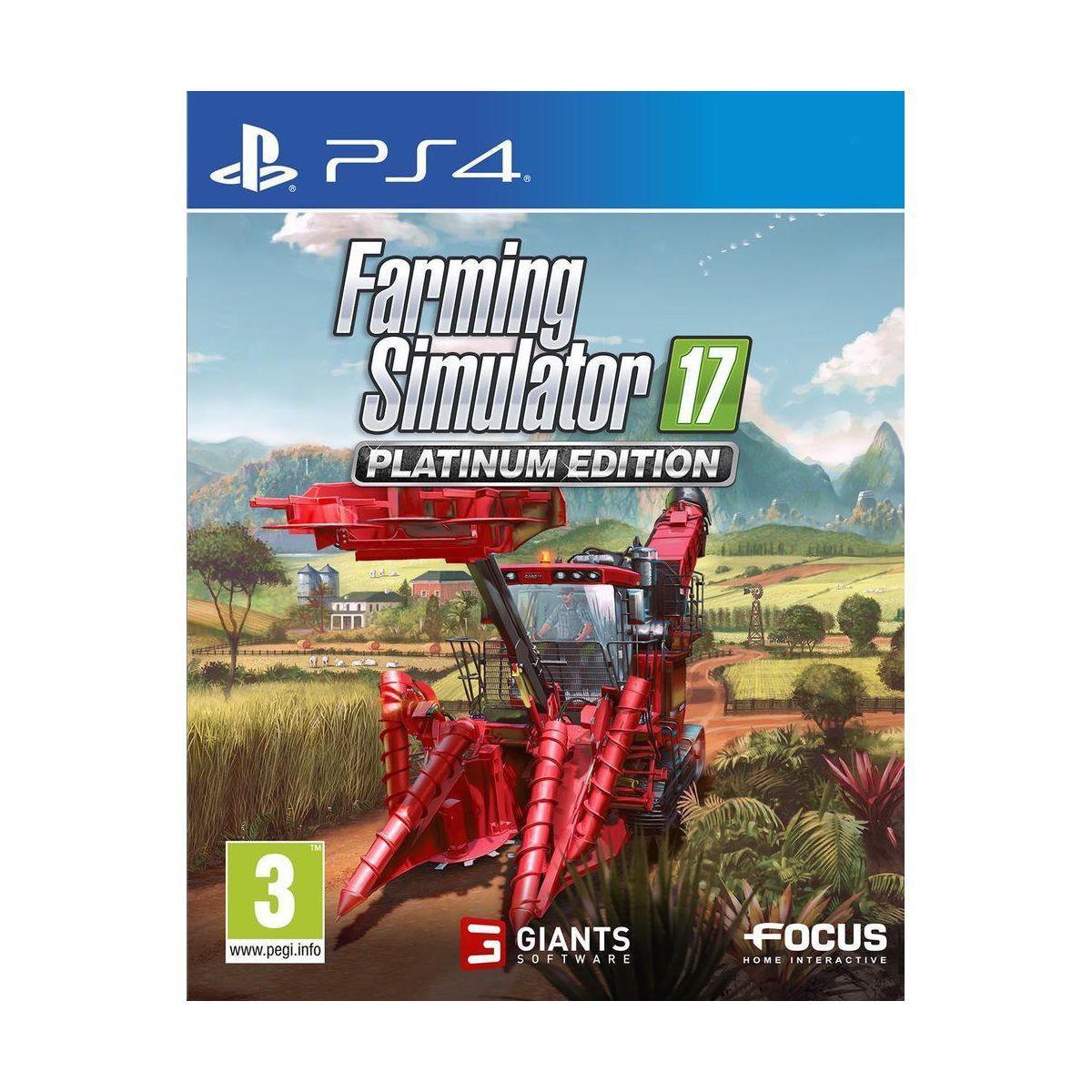 Jeu ps4 focus farming simulator 17 - edi (photo)