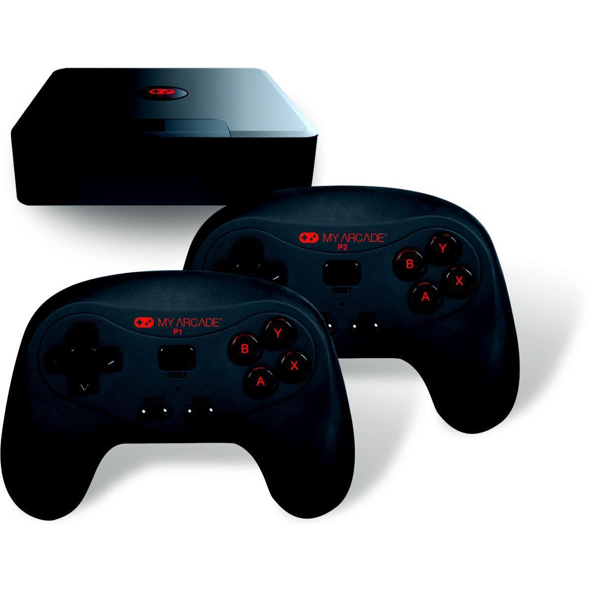 Console r�tro my arcade console + 2 manettes + 300 jeux int�gr�s - 2% de remise imm�diate avec le code : school2 (photo)