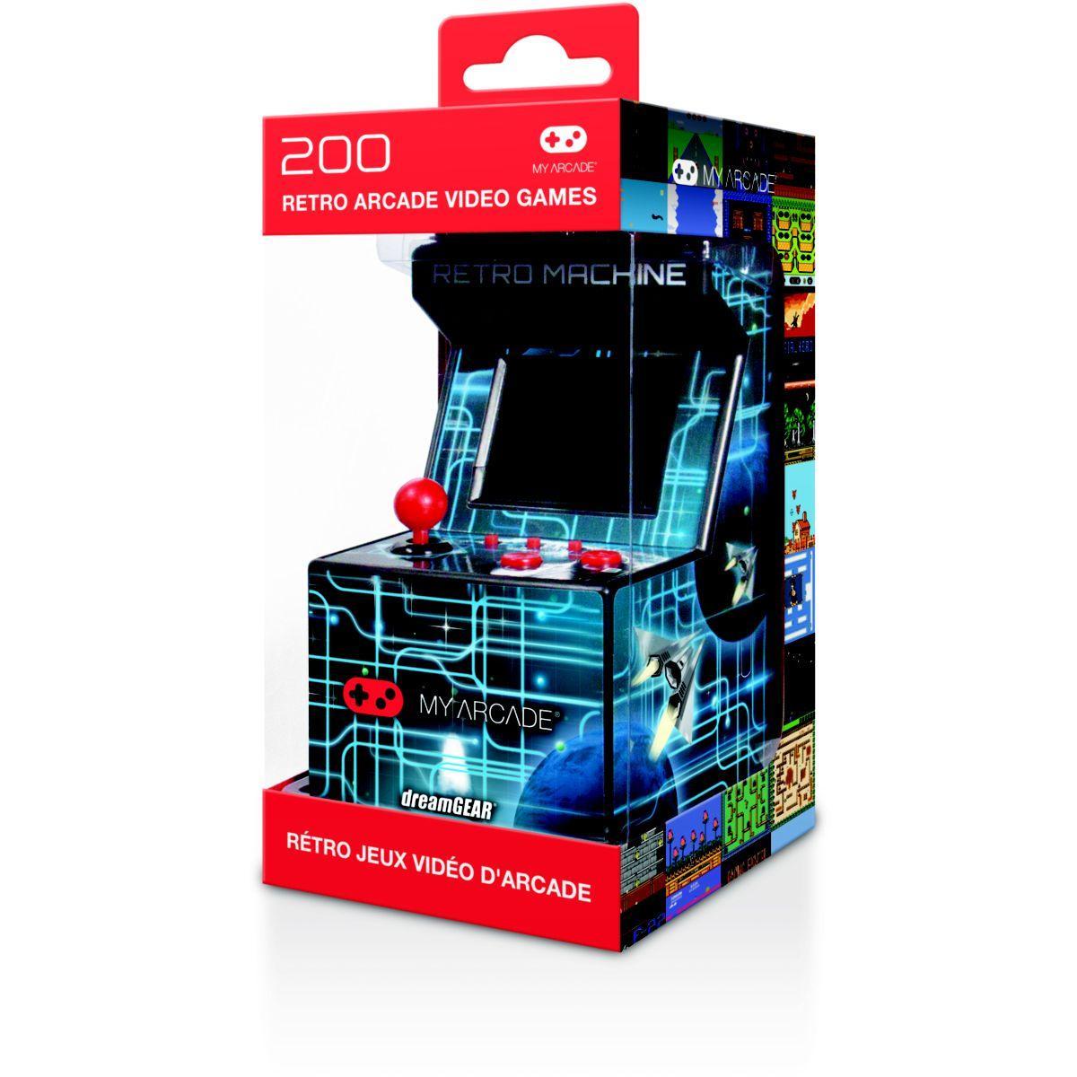 Console r�tro my arcade mini arcade r�tro + 200 jeux int�gr�s (photo)