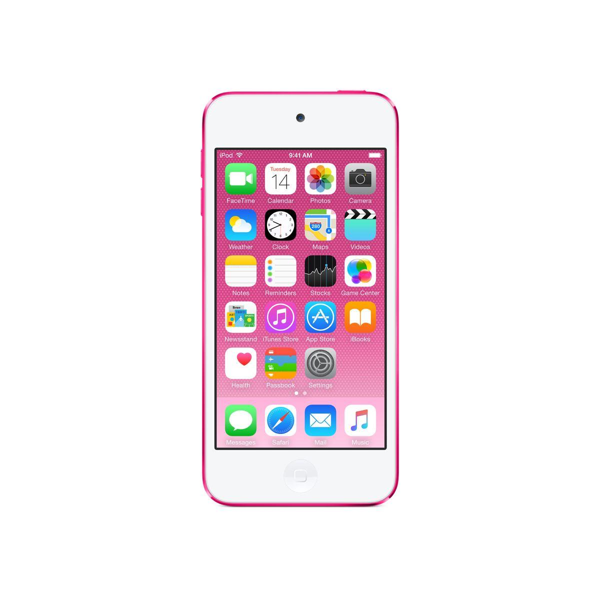 Bal.mp4 apple ipod touch 128gb rose - livraison offerte : code livdom (photo)