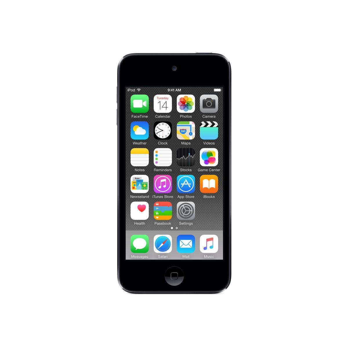 Bal.mp4 apple ipod touch 128gb space gri - livraison offerte : code livdom (photo)