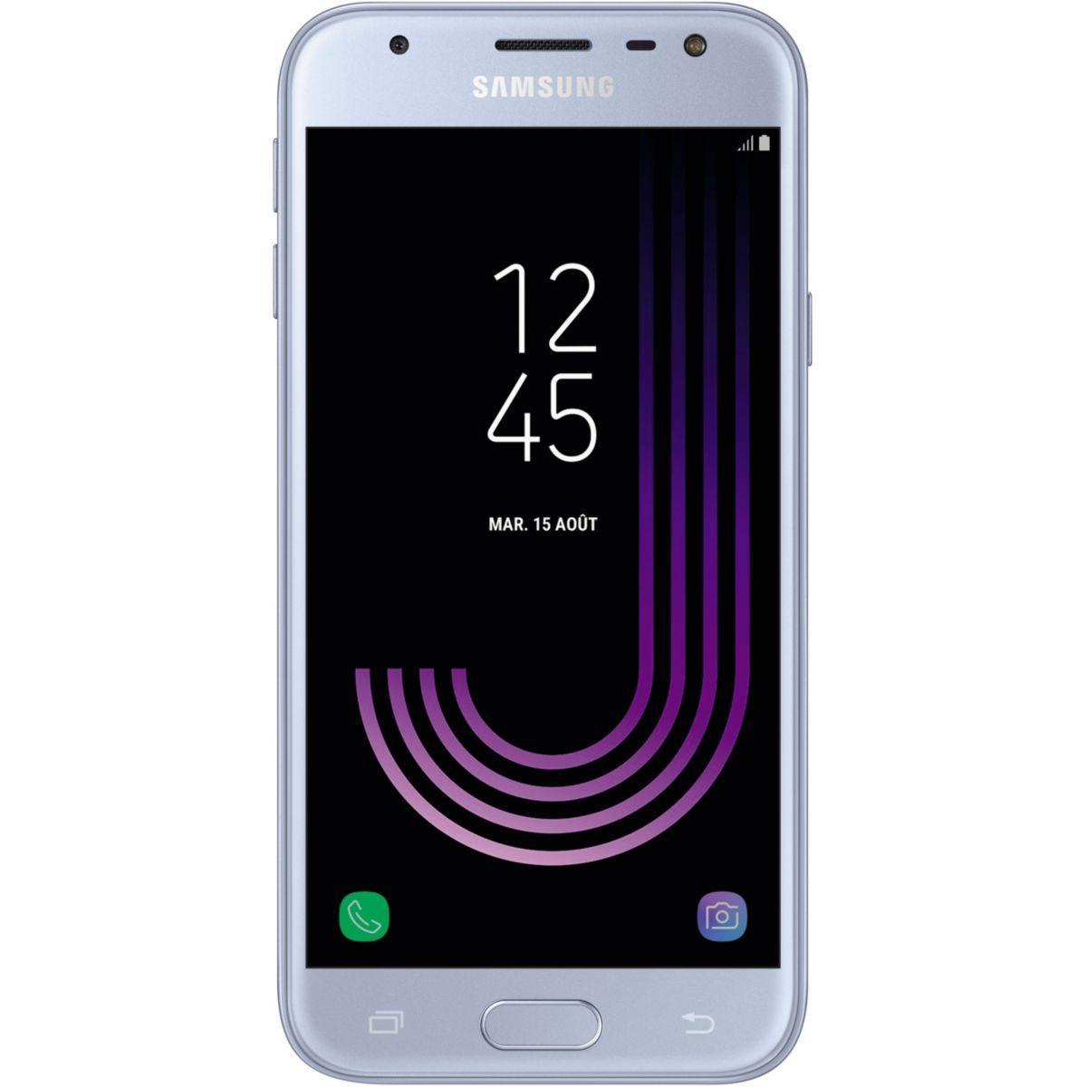 Smartphone samsung galaxy j3 silver ed.2