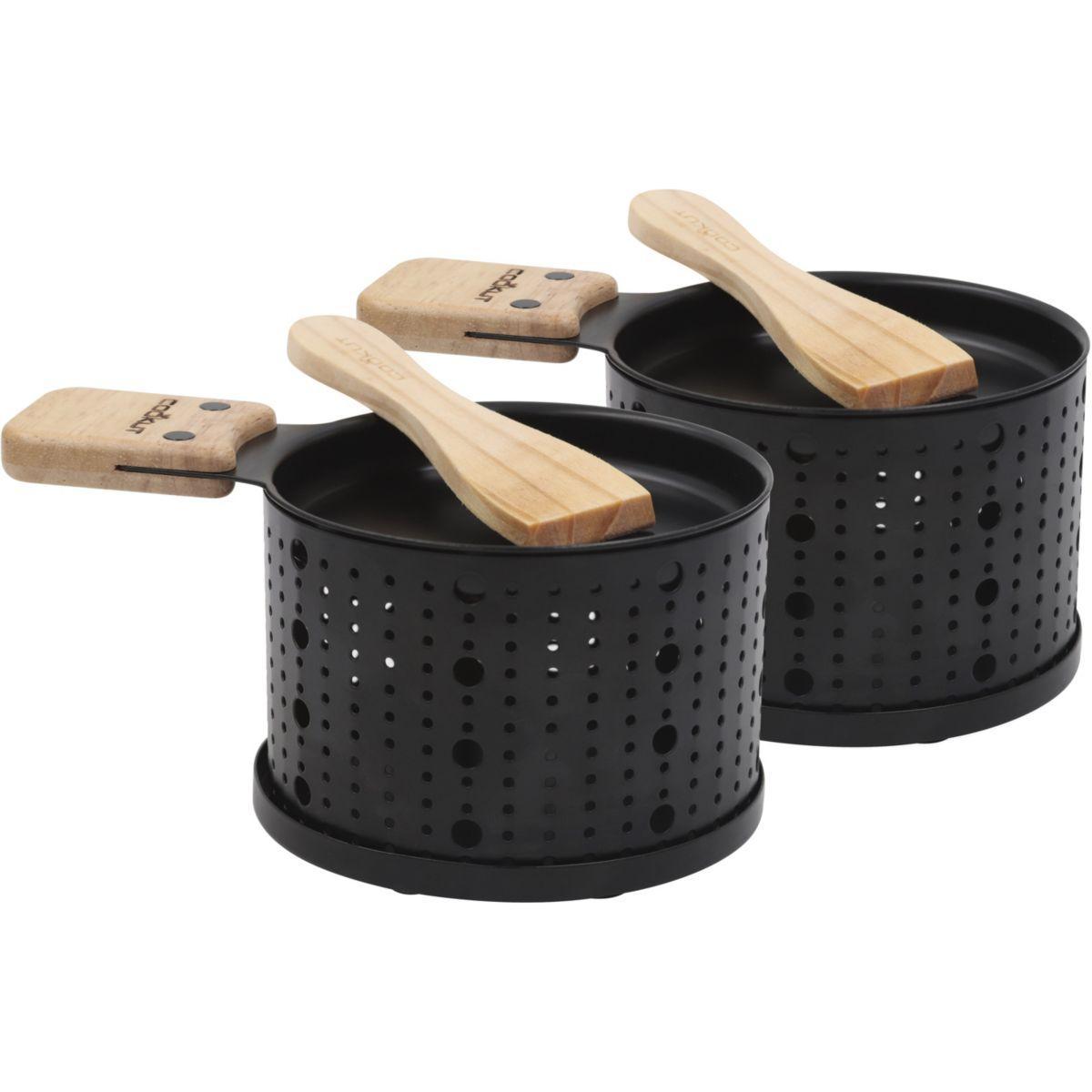 Raclette cookut raclette � la bougie 2 personnes lumi - livraison offerte : code liv