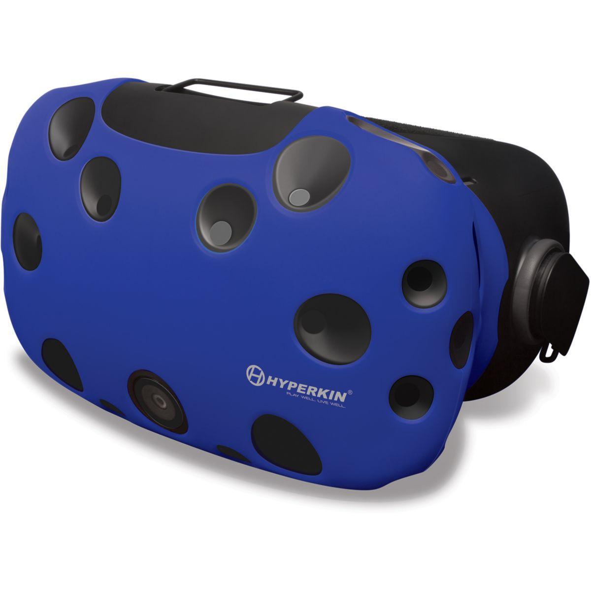 Protection casque hyperkin housse silicone bleue pour htc vive - 2% de remise imm�diate avec le code : automne2 (photo)