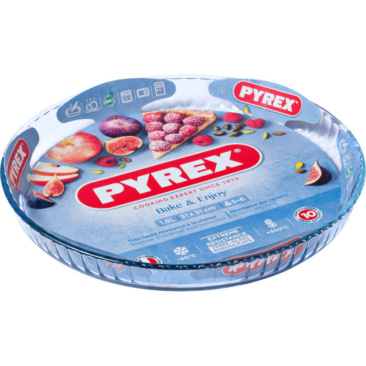 Moule � tarte pyrex diam 30 cm classic (photo)