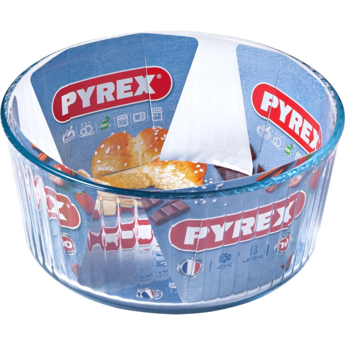 Moule en verre pyrex � souffl� diam 21 cm classic - 10% de remise imm�diate avec le code : automne10 (photo)