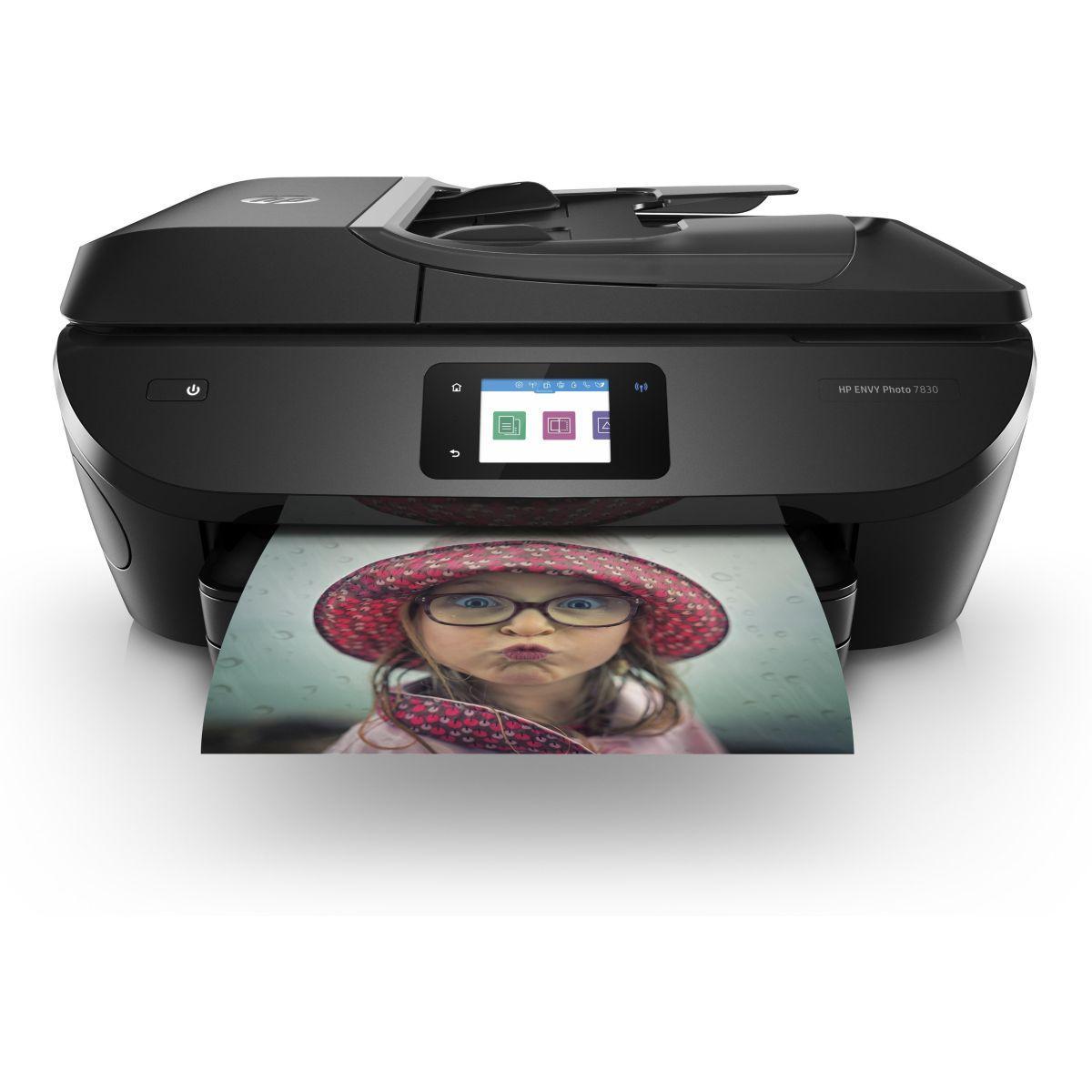 Imprimante jet d'encre hp envy 7830 (photo)
